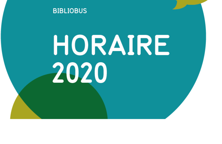 Horaire 2020